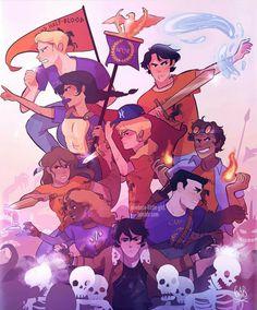 Percy Jackson Fan Art, Percy Jackson Fandom, Memes Percy Jackson, Percy Jackson Characters, Percy Jackson Books, Percabeth, Solangelo, Rick Riordan Series, Rick Riordan Books