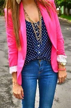 blusa azul marino