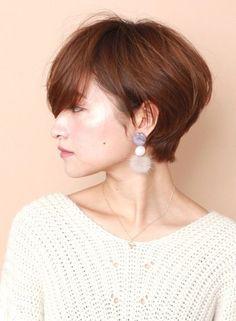 大人女子に人気☆ふんわりショートボブ(髪型ショートヘア)