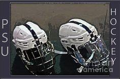 Title  Hockey Helmets   Artist  Gallery Three   Medium  Photograph - Digital Art