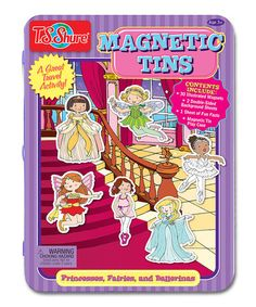 Another great find on #zulily! Princess & Fairy Magnet Set by T.S. Shure #zulilyfinds