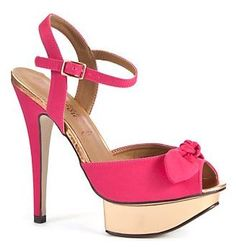 Fuchsia bow platform sandals, £29.99 I don't know if it's just me, or if it;s just the time of year (I know I say this a lot, but there's only so much…