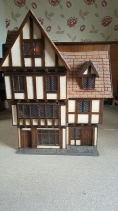 For Sale - Tudor Style Dolls House (Robert Stubbs) - The Dolls House Exchange