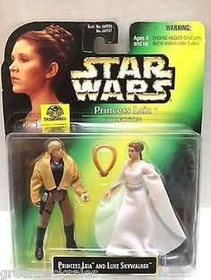 (TAS009551) - Star Wars Princess Leia Collection Princess Leia & Luke Skywalker