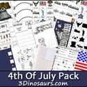 4th of July printables for kids