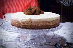 Kolmen suklaan juustokakku | Gurmee.net