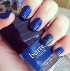 Lovely   Blue #NOTD