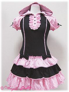 Angelic Pretty / One Piece / Cutsew Parka OP