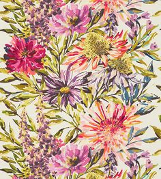 Floreale Fabric by Harlequin | Jane Clayton