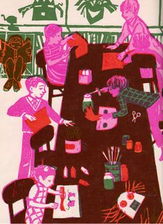 A Day of Autumn - written by Betty Miles, illustrated by Marjorie Auerbach (1967).