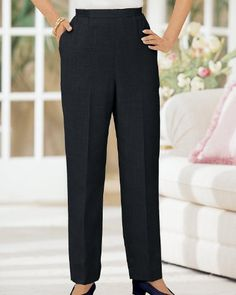 e98c8f8cd5 Donnkenny Tummy Control Pull-On Pants  21.95 Pull On Pants