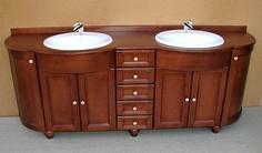 Jedna z propozycji mebli łazienkowych.