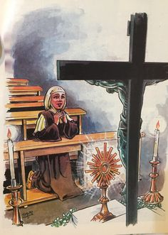 Catholic Religion, Catholic Art, Religious Art, Roman Catholic, Ora Et Labora, St Francisco, Jesus Mother, Jesus Is Life, Church Pictures