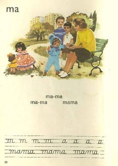 vintage romanian ABC Romanian People, Vintage School, 90s Kids, My Memory, Childhood Memories, Illustrators, Nostalgia, Parenting, History