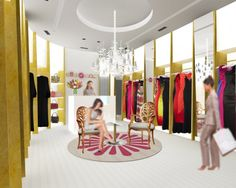 ladies boutique interiors | Dabbagh Architects designs boutique for Effa Fashion