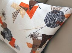 Mid Century Modern Pillow cover  Vintage by atomiclivinhome, $78.00