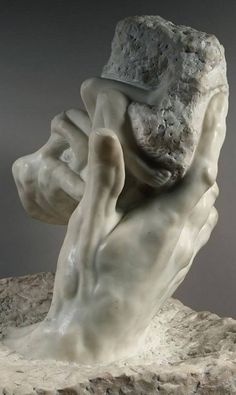 The Hand of God. ca.1896 //  Auguste Rodin