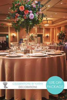 Get 20 off your wedding decor by celebrations by kathy best miami when you order a complete room wrap from celerabtions by kathy you will get 20 miami wedding junglespirit Gallery