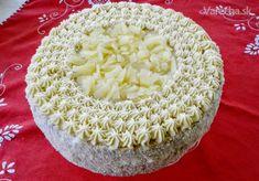 Ananásové pokušenie (fotorecept) - Recept Pavlova, Honeydew, Vanilla Cake, Pie, Fruit, Cooking, Desserts, Food, Cakes