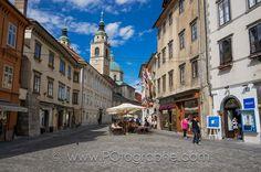 Fotografía Mestni square, Ljubljana, Slovenia por Pierre-Olivier Fortin en 500px
