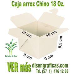 Caja para arroz chino anti-filtración elaborada en cartulina de caña de azúcar, ecológica y biodegradable, cajas para comida, cajas para almueerzo. disengraficas China, Biodegradable, Place Cards, Container, Place Card Holders, Natural, Packing, Color, Box