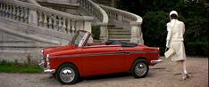 "1965 Autobianchi Eden Roc from ""How to Steal a Million"" with Audrey Hepburn and Peter O'Toole."