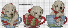 schema cagnolini natalizi