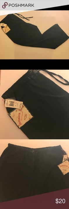 NWT Jamaica Bay Black Lounge Pants Item is brand new with tags and it retails for $43. The pants consist of 70% Rayon and 30% Polyester. Let me know if you have any questions, perfect lounge pants! Jamaica Bay Pants Sweatpants & Joggers