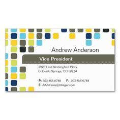 Business Card. Make your own business card with this great design. All you need is to add your info to this template. Click the image to try it out!