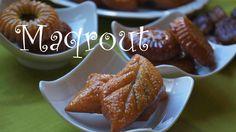 Maqrout or Semolina-Date Sweets Moroccan Cuisine المطبخ المغربي مقروط التمر