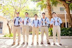 14-southwest-school-of-art-wedding-pictures-blue-khaki-groomsmen-suspenders-color-scheme-wedding