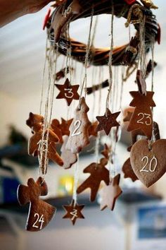 72. #Adventskalender #diy #idea