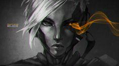 Videojuego League Of Legends  Riven (League Of Legends) Fondo de Pantalla