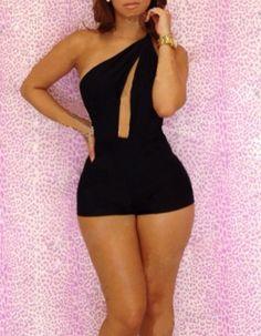 Jumpsuits Bodysuit Bandage Women Bodycon Dress Sexy Outfit Clubwear Shorts  #nobrand #Jumpsuit