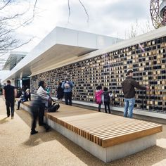 The Podium by Make Architects in Stratford, East London, UK. Make's first legacy building opens at Queen Elizabeth Olympic Park.