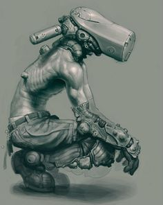 Unknown Cyborg - SciFi-Fantasy-Horror