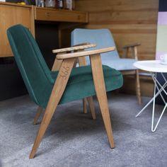 366 Easy chair in Velvet by 366 Concept