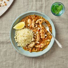 Moroccan Chicken With Lemony Couscous
