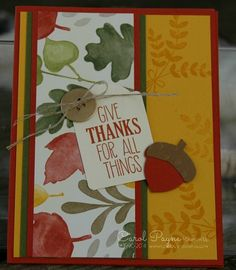 Stampin' Up!,For All Things,Color Me Autumn Designer Paper