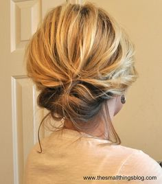 Love easy to do hair :)