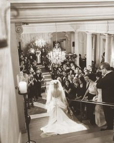 """See the """"A Grand Entrance"""" in our Michelle Kosinski and Kimbell Rush Duncan's Wedding """"Lovebration"""" gallery"""