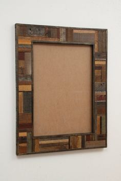 picture frames made out of old wood Reclaimed Wood Mirror, Wood Framed Mirror, Old Wood, Salvaged Wood, Barn Wood Picture Frames, Mirrored Picture Frames, Scrap Wood Crafts, Barn Wood Projects, Furniture Vintage