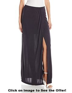 BCBGMAXAZRIA Women's Andreea Overlapped Draped Skirt