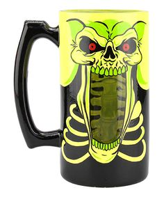 Bad to the Bone Beer Stein