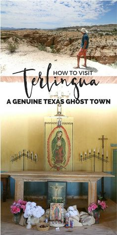 Top things to do in Terlingua Ghost Town in West Texas, bordering Big Bend National Park in the Chihuahua desert from amazing hikes to the best Chile in Texas. Texas Roadtrip, Texas Travel, Travel Usa, Travel Info, Travel Ideas, Travel Tips, Most Haunted, Haunted Places, West Texas