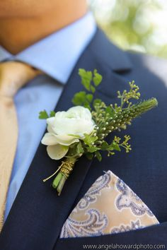 Classy white and green