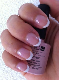 Shellac Clearly Pink en Shellac Cream Puff