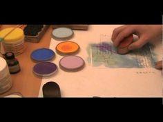 ▶ PanPastel & Sticky Tape - YouTube