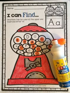 """Alphabet No Prep Letter Printables from A to Z: FREE """"A"""" activities in the preview...just download and print to try it out with your students!"""