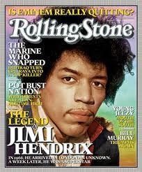 RollingStone cover Jimi